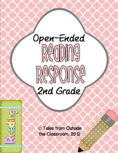 Open ended reading response passages and questions for 2nd grade