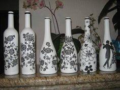 garrafas decoradas - Căutare Google