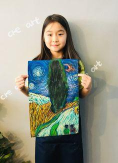 빈 센트 반 고흐[킨더 (초등) 수업 / 시흥시 정왕동 배곧 미술학원 - 창의미술 크리아트 ] : 네이버 블로그 Art For Kids, Crafts For Kids, Landscape Quilts, Chef D Oeuvre, Art Programs, Classical Art, Art Lesson Plans, Creative Kids, Art Plastique