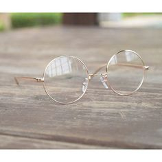 Details about Vintage Round oliver retro eyeglasses gold frames kpop peoples find - - Circle Glasses, Fake Glasses, New Glasses, Glasses Frames, Lunette Style, Stylish Sunglasses, Women's Sunglasses, Fashion Eye Glasses, Cute Jewelry