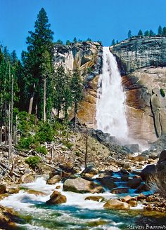 Nevada Fall, Yosemite Valley, Yosemite National Park, California