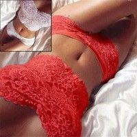 f581c43c0ed 2017 Hot Sale Lady s Sexy Corset Lace Push Up Vest Top Girl Bra + Pants Set  Underwear Suit