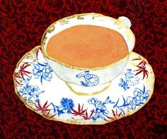 China Tea 10 x 8 Print on paper by KSGtextileart on Etsy