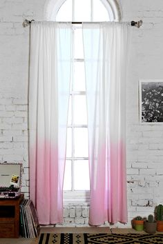 to shield off the living room (helping to create a more cozy space | Assembly Home Gradient Curtain