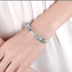 925 charm bracelet 925 silver charm bracelet . New ! Charms fit Pandora bracelet .. ✅ make me offer✅ Jewelry Bracelets