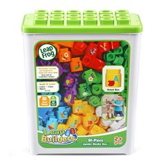 LeapFrog LeapBuilders 81-Piece Jumbo Blocks Box -- Check out this great product. (This is an affiliate link)