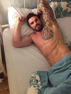 Stuart Reardon. Perfect spot under your right arm for me to lay!