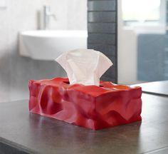 Essey Wipy Rectangular Tissue Box Holder Fits Major Brands Such As Kleenex and Puffs.