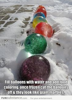 totally weird (and weirdly cool) outdoor decorating idea!