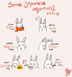 Some adjectives 2 by Hde-and-seeK on DeviantArt