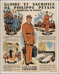 Gloire et sacrifice de Philippe Pétain