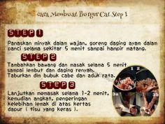 Masakan Unik - Burger Cat  Video Cara Masak : http://www.youtube.com/watch?v=tXS0RdlqhTo  NB : website (http://ResepMasakanSederhana.net/) kami dalam proses pembuatan   #resep#masakan#sederhana#unik#unique#enak#recipes#food#burger#pepper#salt#ayam#chicken#cheese#cat