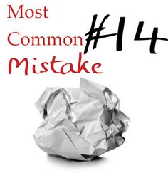 Most Common Mistakes Series: The Case of the Vanishing Setting