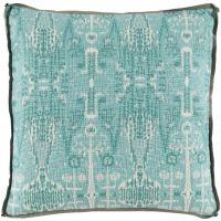 #10 Bombay Mist w/ Trellis Mist Gusset & Stone Linen Flange Pillow