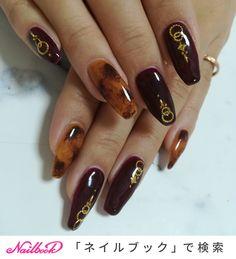 秋/冬/ライブ/パーティー/ハンド - miku_umikuのネイルデザイン[No.3749027]|ネイルブック Japanese Nail Art, Jam And Jelly, Design