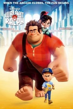 Wreck It Ralph. I think this movie is so CUTE! It's funny intense and it will make you happy by the end. (I love Vanilapey is adorable) ⭐⭐⭐⭐⭐ cute family film.