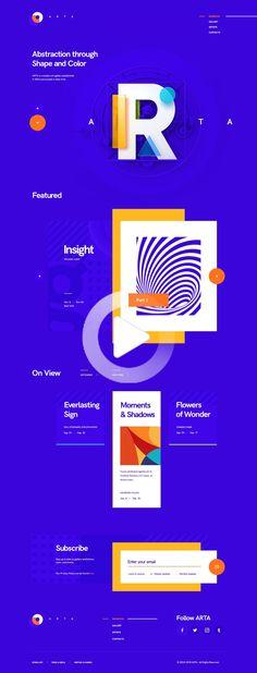 Web design tips - Best Art Gallery Websites Design Idea – Web design tips Design Websites, Art Gallery Websites, Web And App Design, Web Design Quotes, Website Design Services, Web Design Tips, Web Design Trends, Web Design Company, Ui Ux Design