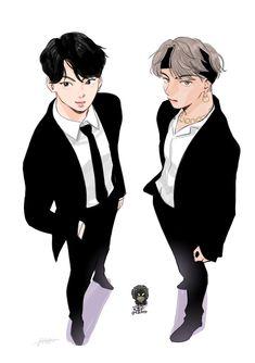 #taekook #vkook #jungkook #taehyung #v #yeontan #odeng #eomuk #bts