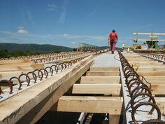 Výstavba dálničního mostu s deskami CETRIS BASIC