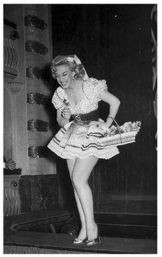 Rosita Fornes en Madrid 1958