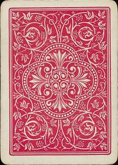 Generic Pattern Typologies: Playing Cards :: Adam Marcus