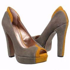 Women's BCBGeneration Jodeci Grey/Mustard Shoes.com