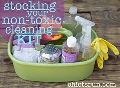 stocking your non toxic cleaning kit