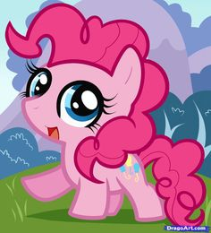 how to draw chibi pinkie pie, my little pony friendship is magic. No matter how hard I try,I CAN'T DRAW PONIES.
