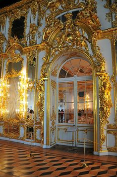 Catherine Palace, Tsarskoye Selo, Russia Russian Architecture, Baroque Architecture, Architecture Design, Palace Interior, Interior And Exterior, Scenic Photography, Night Photography, Photography Tips, Landscape Photography