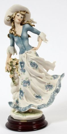 GIUSEPPE ARMANI BISQUE FIGURE OF 'LADY JANE' : Lot 21563