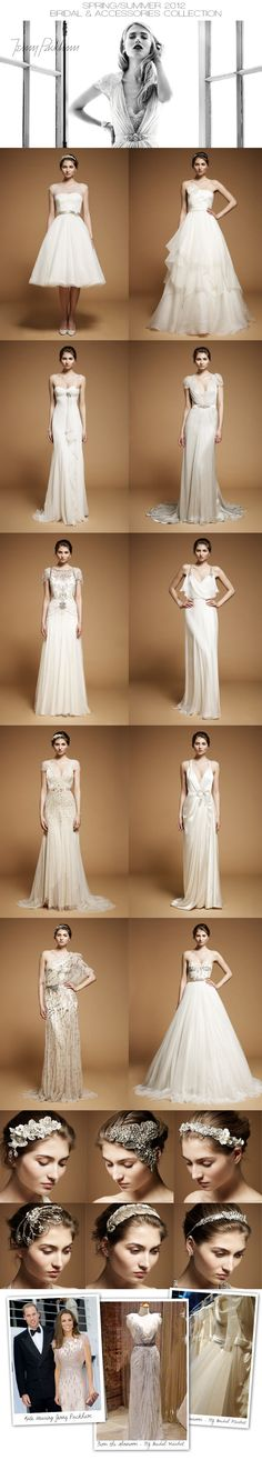Jenny Packham Spring/Summer 2012 wedding gown collection