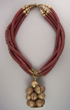 """Africa """"merlot"""" vulcanite/ bronze """"clam shells""""... teripelio.com"""