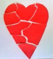 Broken Heart: rip heart in 6 pieces - write reasons they are upset on each one - Use for planning and follow up