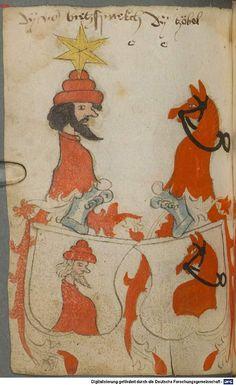 Ortenburger Wappenbuch Bayern, 1466 - 1473 Cod.icon. 308 u  Folio 156v