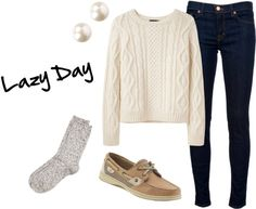 """""""OOTD 2-15-13 My favorite cozy winter outfit"""" by preppyprincess11 ❤ liked on Polyvore"""
