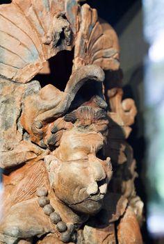 Mayan figure,Palenque,Chiapas Mexico
