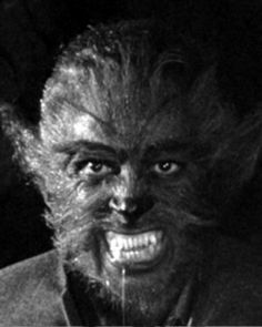 The Werewolf (1956) Horror Films, Horror Art, Werewolf Costume, Night Of The Demons, Dana Andrews, Lon Chaney, Howl At The Moon, Thing 1, Famous Monsters