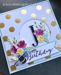 Kartki własnej roboty Special Birthday with Jar of Love . Birthday Cards For Women, Handmade Birthday Cards, Greeting Cards Handmade, Female Birthday Cards, Special Birthday Cards, Beautiful Birthday Cards, Flower Birthday Cards, 21st Birthday Cards, Birthday Images
