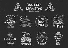 YOO HOO | Vintage Rustic Logo Template. DOWNLOAD on Behance #vintage #logo #hipster #classic #summer #bundle #rustic #template