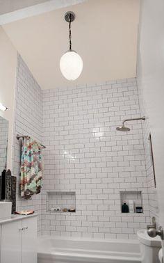 Amanda's Minimal & Modern Master Bathroom Makeover — Makeovers: Renovation Project