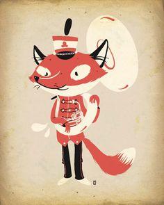 Lauren Gregg | The Fox Is Black