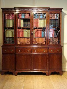 Venetian Baroque Style Walnut Sideboard Antique
