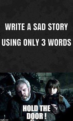 Three Word Sad Story