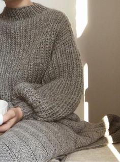 Sweater No. Jumper Knitting Pattern, Knitting Patterns Free, Knit Patterns, Knitting Tutorials, Free Knitting, Stitch Patterns, Angora, Wool Sweaters, Chunky Sweaters