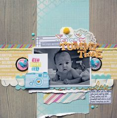 Tummy Time - Scrapbook.com