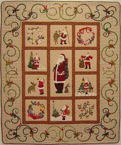 Sampling of Santas from A Slice of Christmas Downloadable eBook