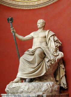www.becketttravel.com Emperor Nerva, Roman statue (marble), 1st century AD, (Musei Vaticani, Vatican City).