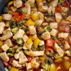 This family favorite stir fry recipe only needs one pan and 20 minutes! Chunks of tender chicken, fresh veggies in a deliciously unique homemade sauce. Crispy Honey Chicken, Chicken Stir Fry, Garlic Chicken, Homemade Stir Fry, Homemade Sauce, Stir Fry Recipes, Cooking Recipes, Freezer Recipes, Freezer Cooking