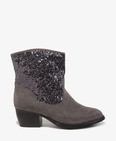 Glittered Cowboy Booties | FOREVER21 - 2027705927