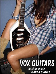 60's vox guitars ad
